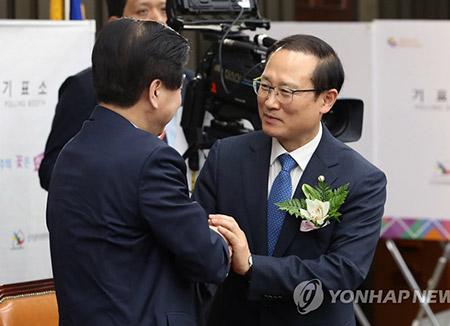 Le Minjoo a un nouveau chef de groupe parlementaire