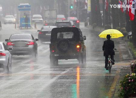 Un week-end sous la pluie