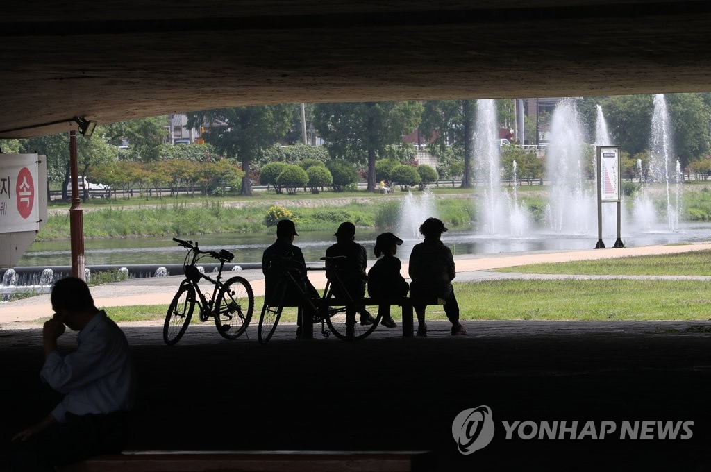 Mercury Rises above 30 Degrees in Many S. Korean Regions