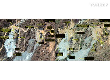 核実験場廃棄 北韓が韓国メディア招待