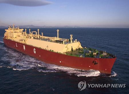 Corea promueve la operación de barcos de gas natural licuado
