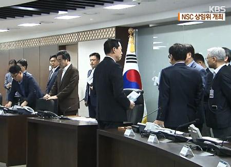 청와대 17일 오전 NSC 상임위 개최…고위급 회담 연기 등 현안 논의