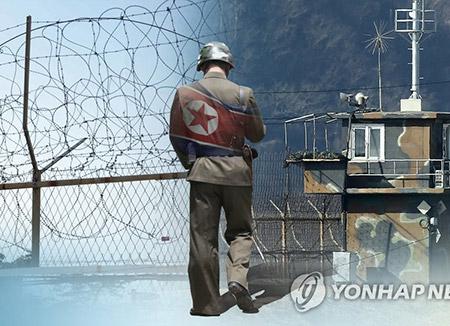 北韩军官与居民19日通过西海投奔韩国