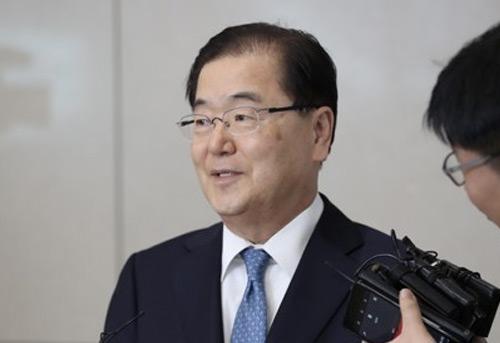 青瓦台国家安保室室长郑义溶:举行北美首脑会谈的几率为99.9%