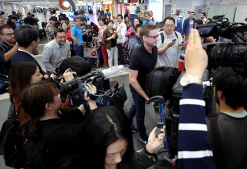 Les journalistes sud-coréens n'ont pas reçu de visa pour aller couvrir le démantèlement du site de Punggye-ri