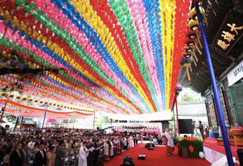 Buddhists Wish for Inter-Korean Peace on Budda's Birthday