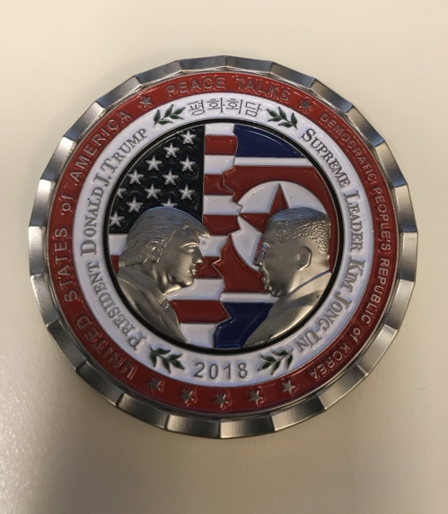 US Mints Commemorative Coin for Summit with N. Korean Leader
