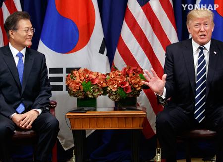Президент РК Мун Чжэ Ин прибыл с визитом в США