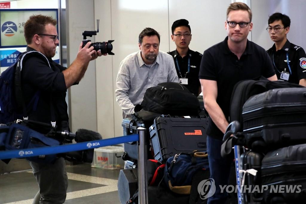 Periodistas extranjeros partieron de Beijing a Corea del Norte