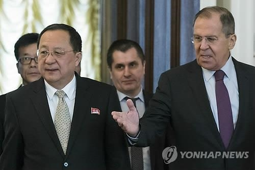 Russia's Top Diplomat to Visit N. Korea Next Week