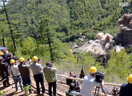 موقع 38 شمالًا: رصد بعض الأفراد المتمركزين في موقع بونغي-ري للاختبارات النووية