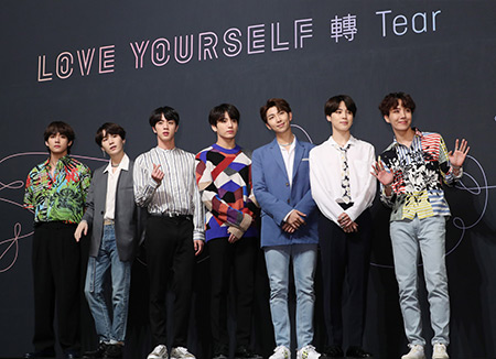 BTS Sets New Record for K-Pop on UK Albums Chart