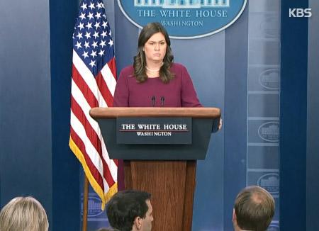 La porte-parole de la Maison-Blanche ébranlée par la question d'un garçon