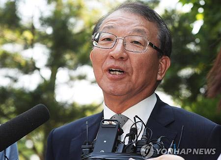 前大法院院长梁承泰否认进行审判交易