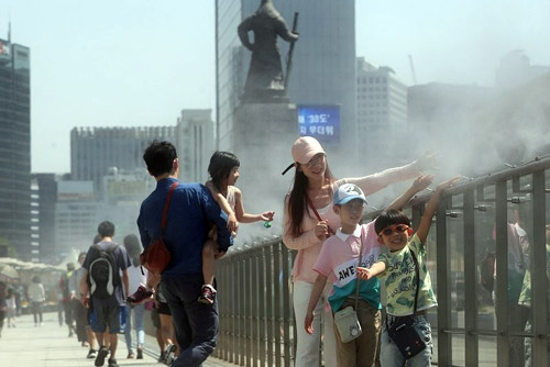 S. Korea Battling Historic Temperatures
