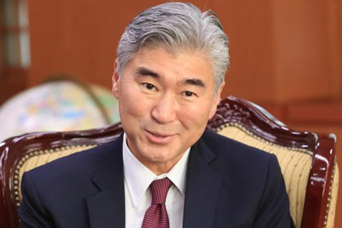 Sung Kim Stresses Importance of S. Korea-Japan Cooperation to US