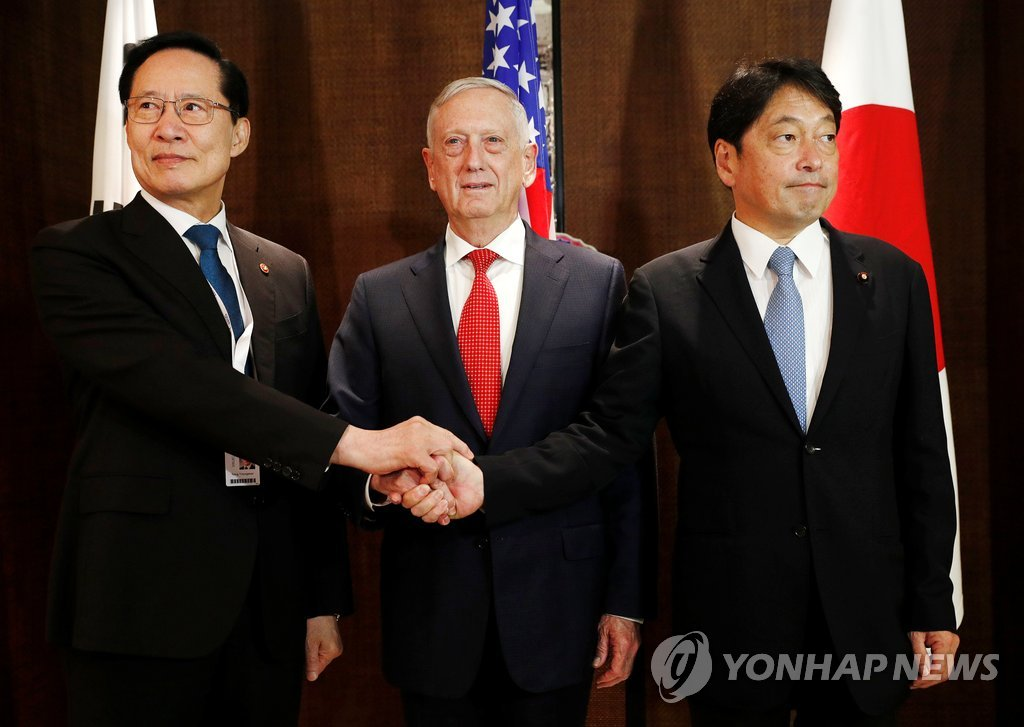 韓日米外相会談 14日にソウルで開催