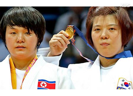 柔道の東アジア選手権大会に南北合同チーム