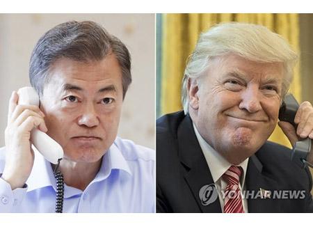 Lãnh đạo Hàn-Mỹ điện đàm ngay sau Hội nghị thượng đỉnh Mỹ-Triều