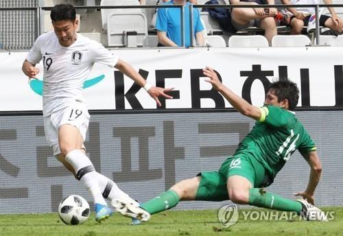 サッカー 韓国がボリビアと引き分け