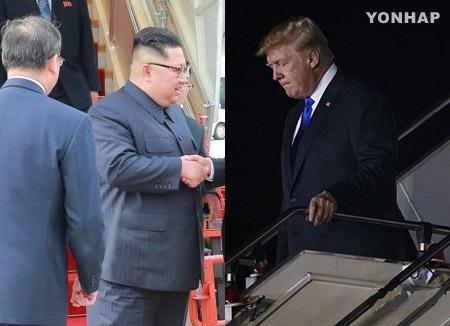Kim und Trump übernachten in Singapur