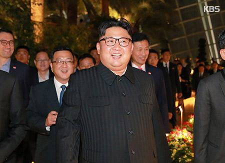 Лидер КНДР Ким Чон Ын осмотрел достопримечательности Сингапура
