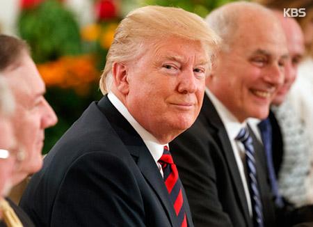 """트럼프 """"진짜 합의 있을지 곧 알게 될 것...대표단 회의 잘 되고 있다"""""""