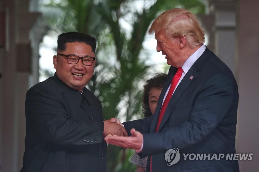 Bắt đầu cuộc gặp thượng đỉnh lịch sử Mỹ-Triều