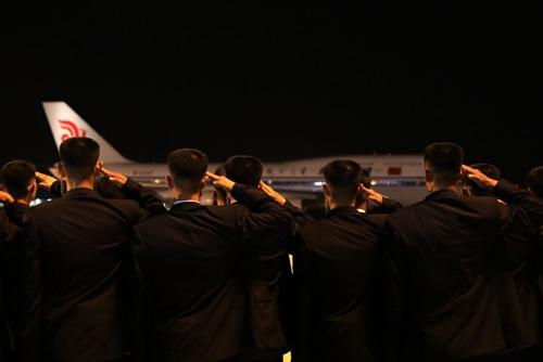 Một trong hai chuyên cơ Bắc Triều Tiên mượn của Trung Quốc đã về tới Bắc Kinh