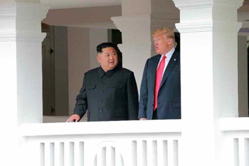 Trump: Nachweis der Abschaffung nordkoreanischen Atomprogramms durch Aufbau von Vertrauen möglich