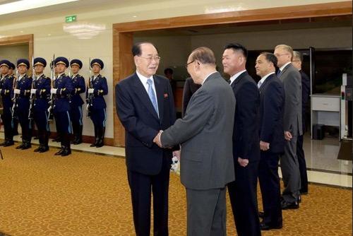 북한 김영남, 러 월드컵 개막식 참석위해 모스크바 도착