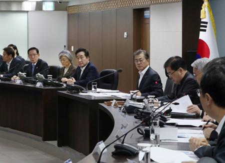 문 대통령, 14일 NSC 전체회의 주재…북미 정상회담 후속책 논의