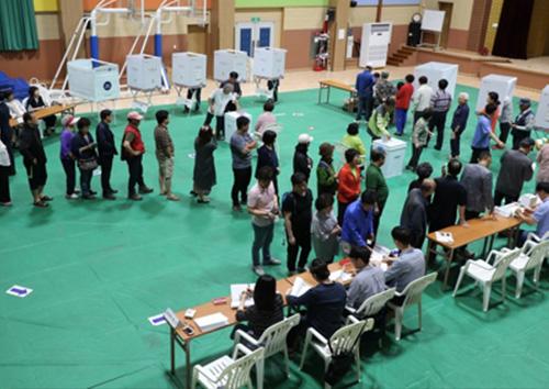 6.13 지방선거 전국투표율 7.7%