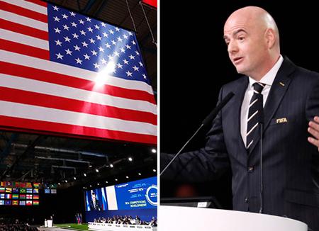미국·멕시코·캐나다, 2026년 FIFA 월드컵 공동 개최
