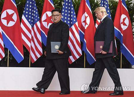 トランプ氏の北韓問題対応 米国民の51%が支持