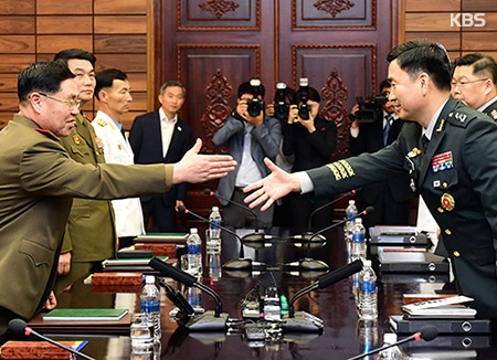 North, South Korea hold military talks amid USA plan…