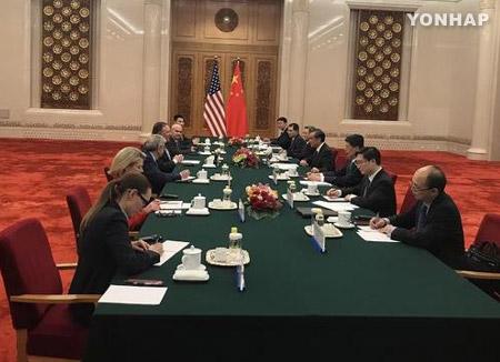 米中 北韓制裁で互いにけん制