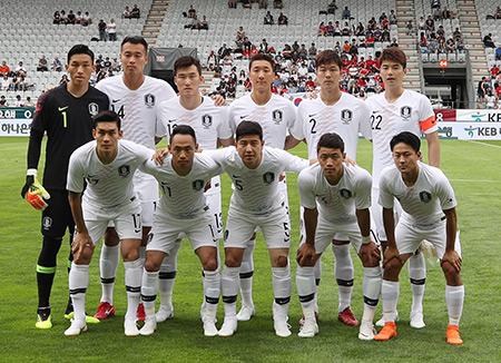 Team Korea to Sport White Uniform for Sweden Match