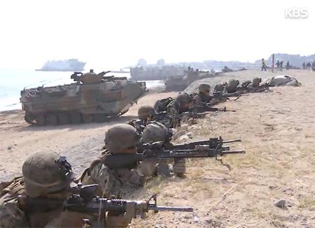 韩美停止联合军演逐步成为现实