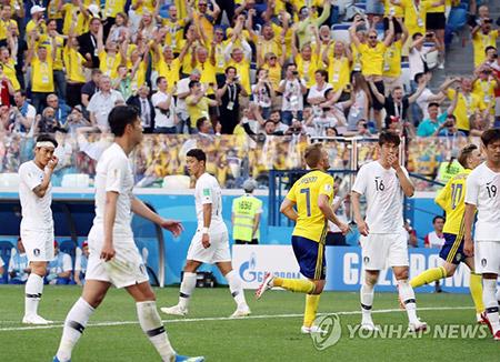 Corea pierde ante Suecia y anticipa un camino espinoso