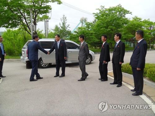Südkoreanisches Team besucht Kaesong für Vorbereitung der Einrichtung von Verbindungsbüro