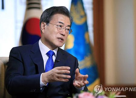 Moon betont Umsetzung von Vereinbarung bei USA-Nordkorea-Gipfel