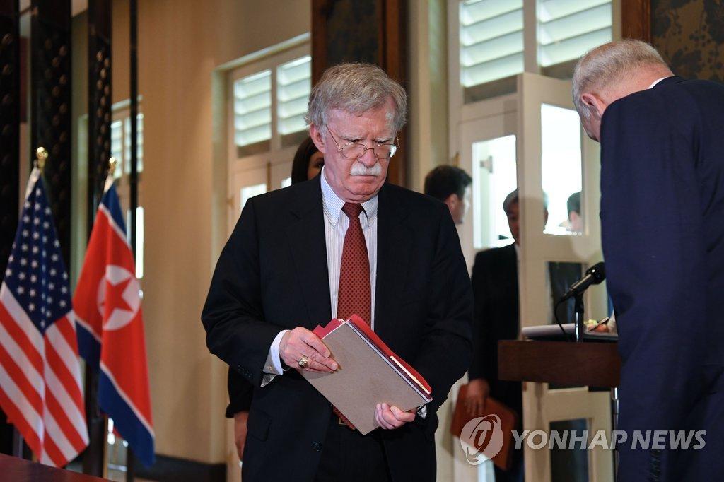 John Bolton : Pyongyang est confronté à un choix décisif et dramatique