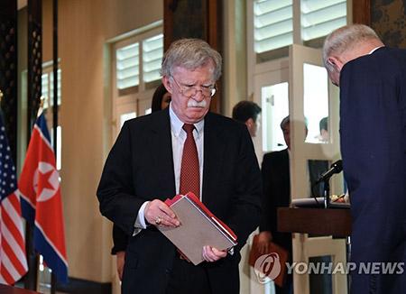 博尔顿:美北会谈不会拖延 北韩需尽快采取行动