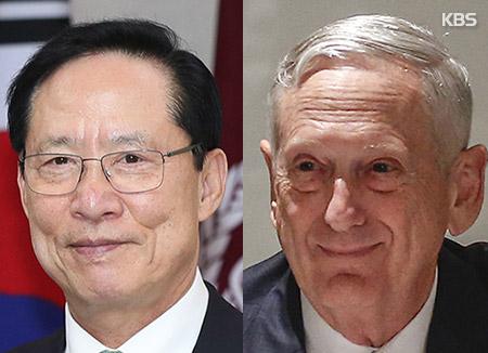 米国防長官「来週訪韓」 合同演習巡り協議か