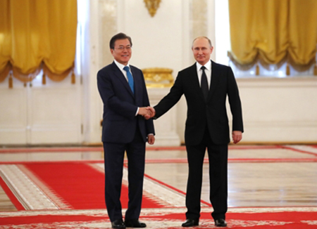Russian President Putin to Visit S. Korea Next Year