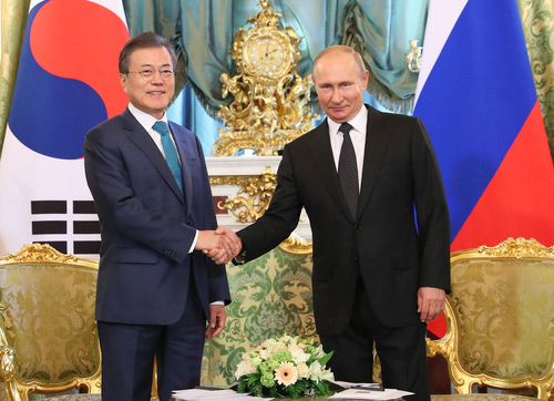 Moon Returns from Russia Trip