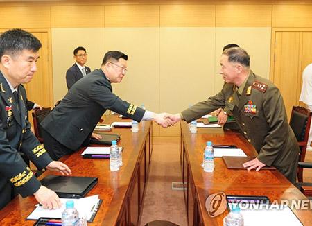南北韩商定早日恢复东海和西海地区军事热线