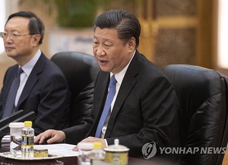 """""""시진핑, 김정은에 종전선언 보류 촉구…중국도 참여해야"""""""