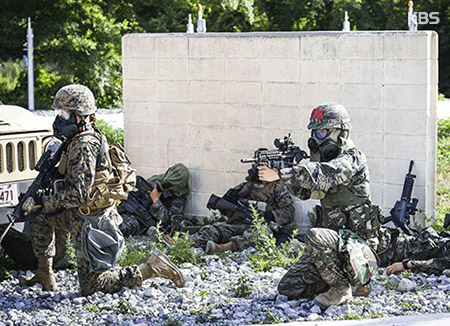 Séoul et Washington suspendent à nouveau leurs exercices militaires communs